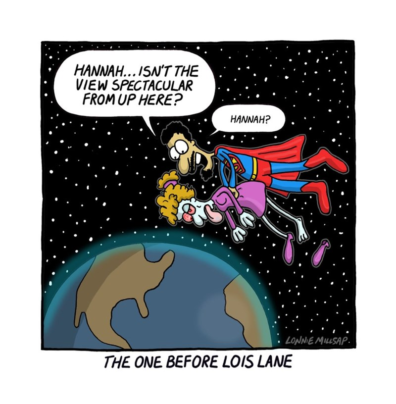 web comics superman I Can Show You the World
