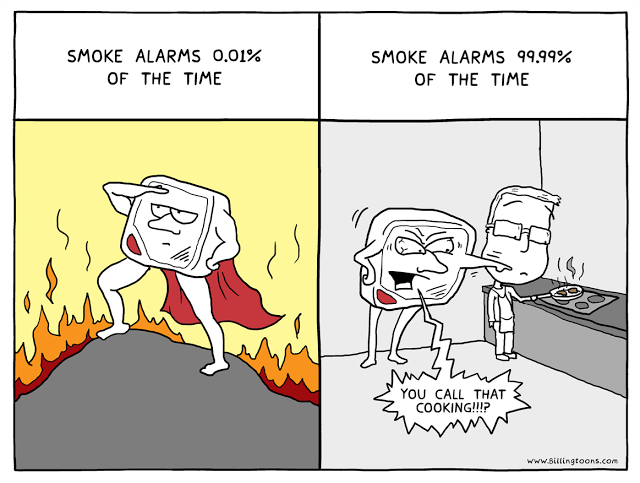 web comics smoke alarm cooking Don't Be So Judgemental