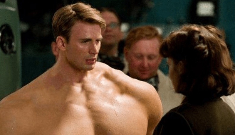 captain america comics movies If Rob Liefeld's Captain America Was the Model for Chris Evan's Captain America Transformation