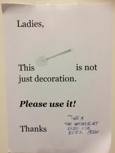 toilet brush dildont - 8751131392