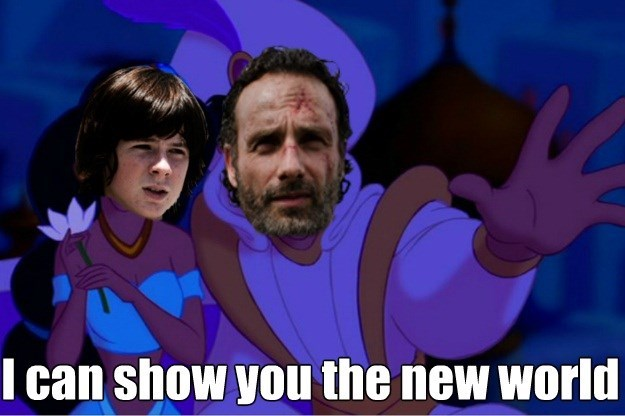 walking dead memes i can show you the world
