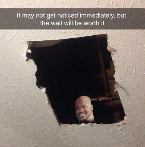 ceiling,Shaq