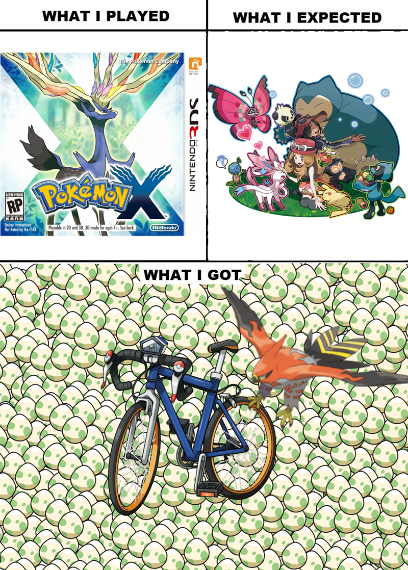 Pokémon,expectations vs reality,breeding