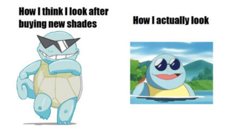 sunglasses squirtle