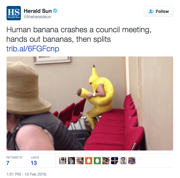 excellent banana pun headline