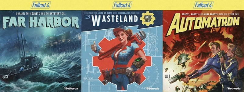 fallout 4 dlc release dates