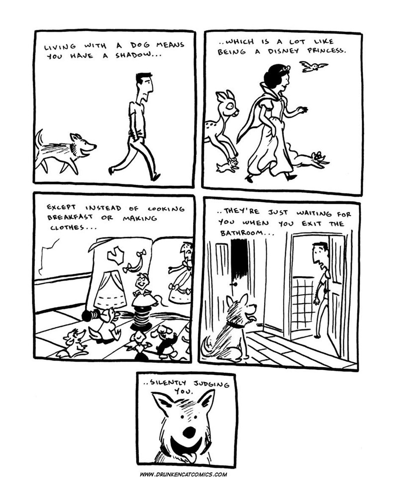 dogs web comics It's Magical