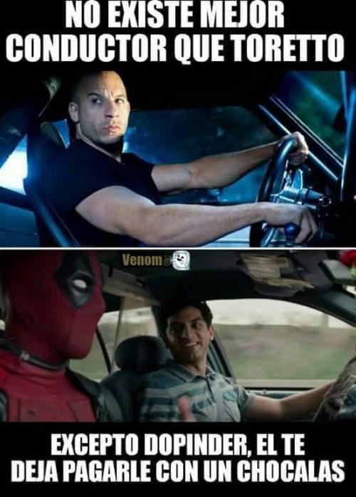 el mejor conductor