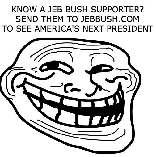 jeb bush donald trump redirect