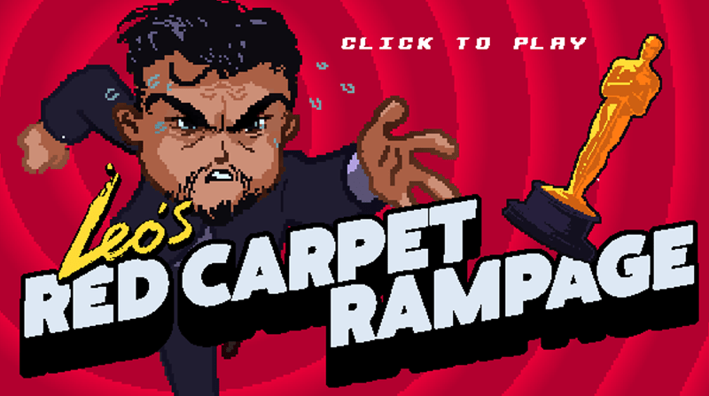 video games leonardo dicaprio Leo's Red Carpet Rampage Is the Only Part of the Oscars You Need to Attend