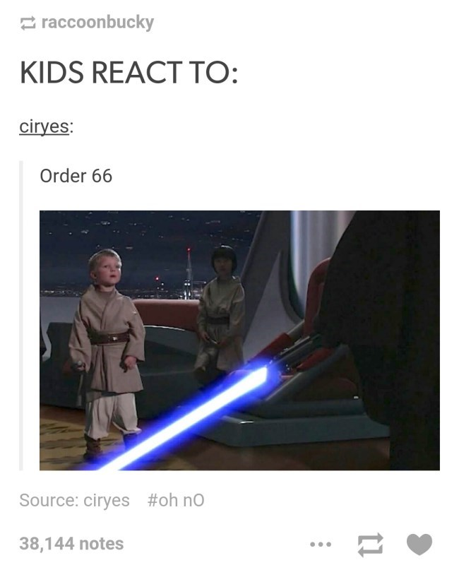 kids react to order 66