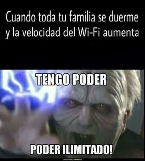 tienes todo el wifi