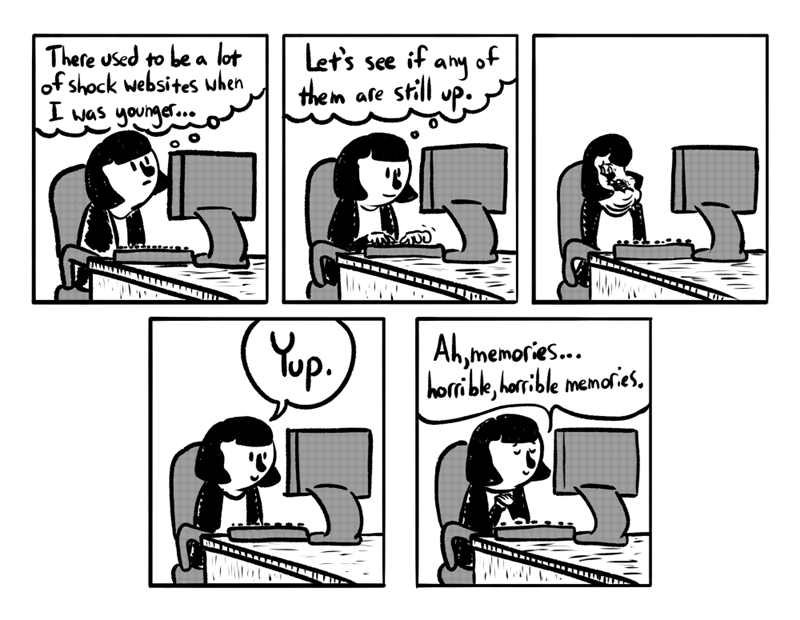 web comics internet The Good Old Days of the Internet