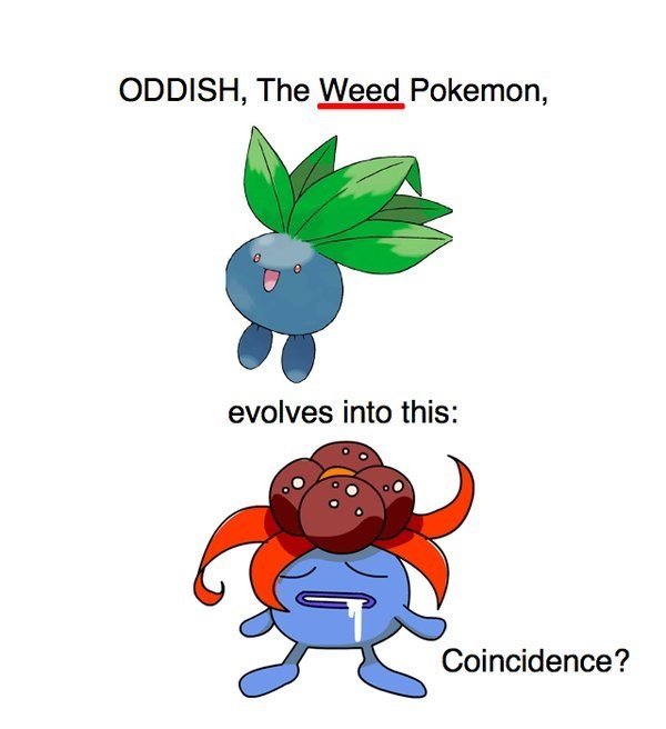 gloom,oddish,weed