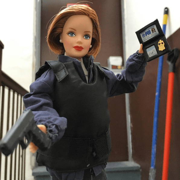 list,Barbie,instagram,the x-files,dana scully