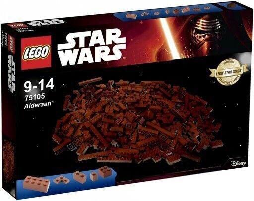 funny star wars lego alderaan
