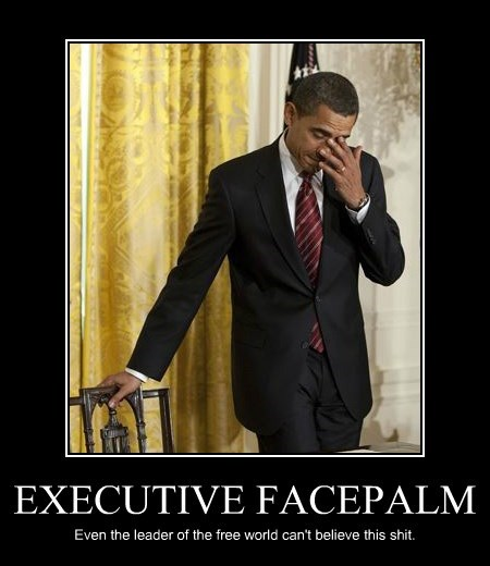 EXECUTIVE FACEPALM