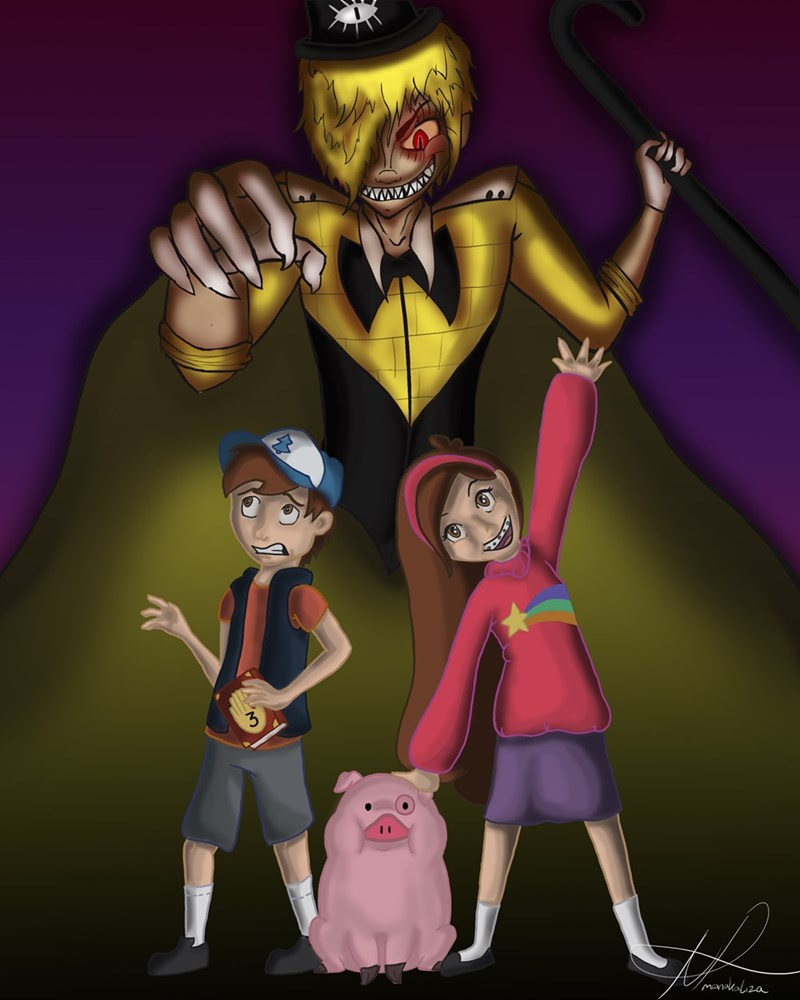 gravity falls Fan Art - 8752444160