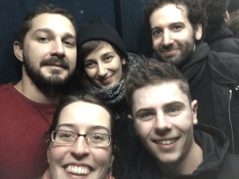 shia labeouf elevator art Shia LaBeouf Is Spending 24 Hours in an Elevator Because 'Art'