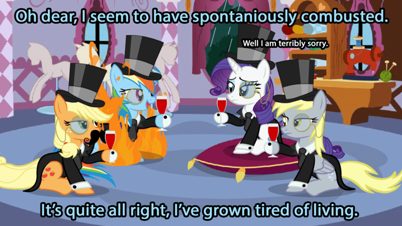 animation,applejack,derpy hooves,family guy,rarity,rainbow dash