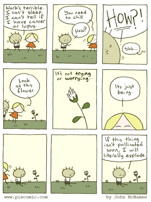 web comics anxiety Just Clear Your Mind.. So You Have Room for Different Anxieties