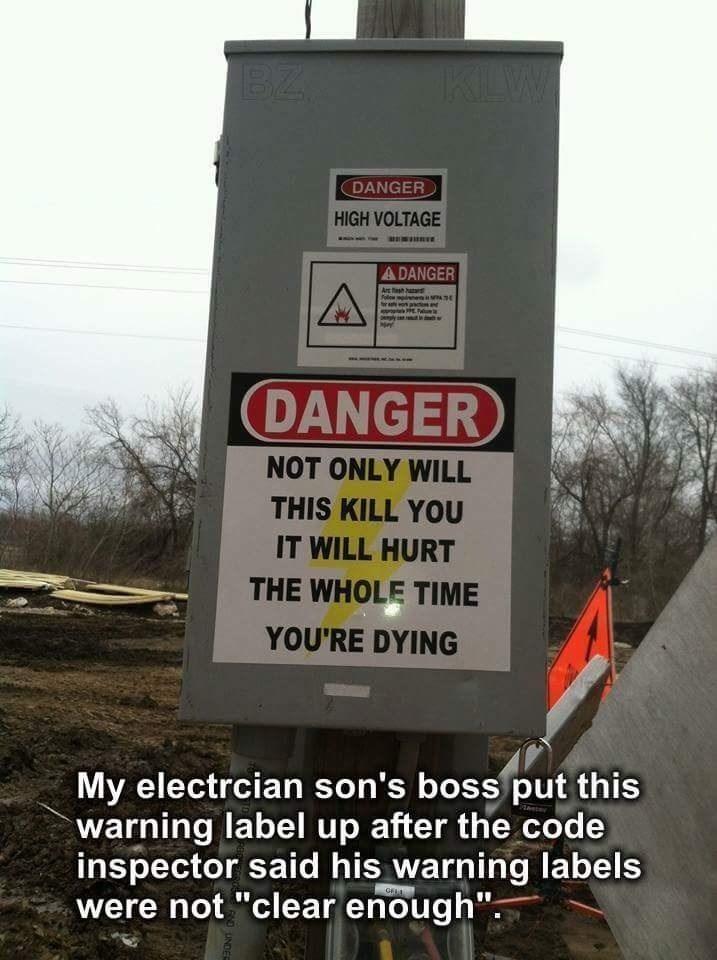 danger IRL high voltage sign - 8752883456