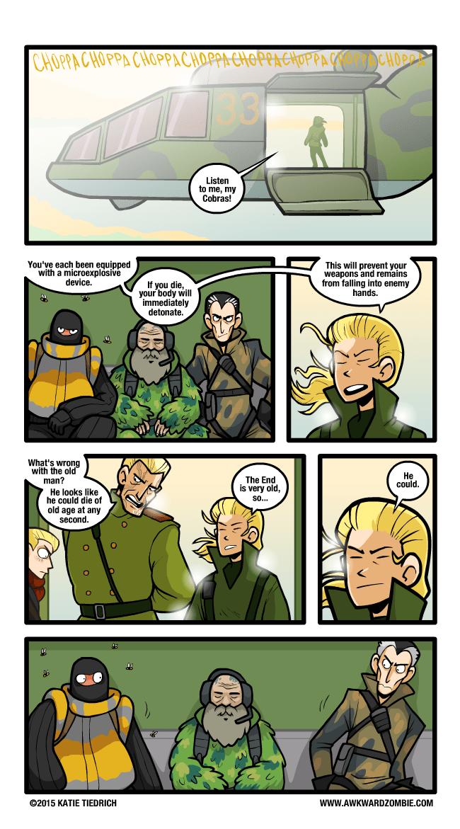 Fan Art metal gear web comics - 8752912896