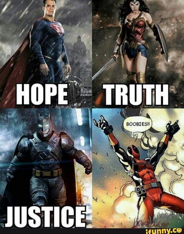 justice league deadpool Fighting for What's Important