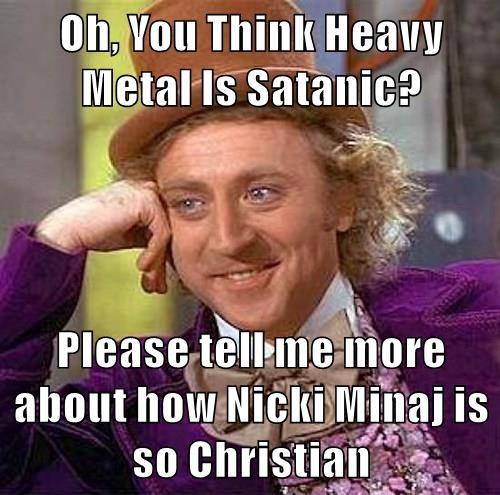 memes metal Music nicki minaj - 8753110528