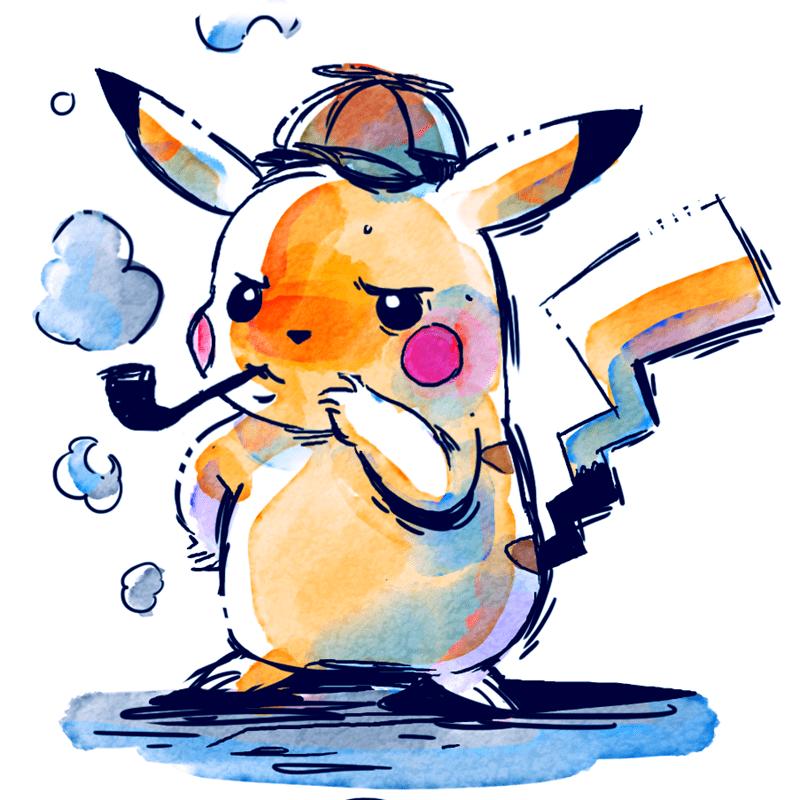 pokemon memes detective pikachu fan art
