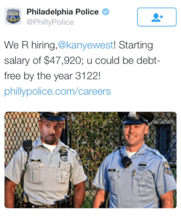 twitter jobs kanye west debt - 8753126144