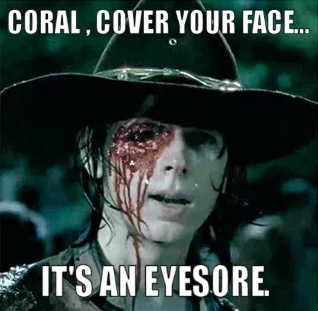 carl grimes,The Walking Dead