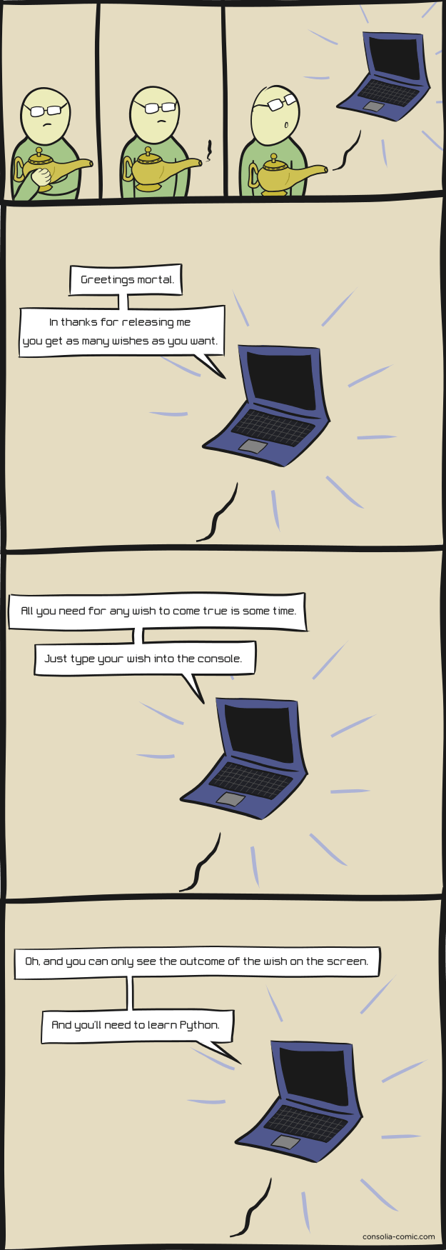 computers wishes web comics - 8753220352