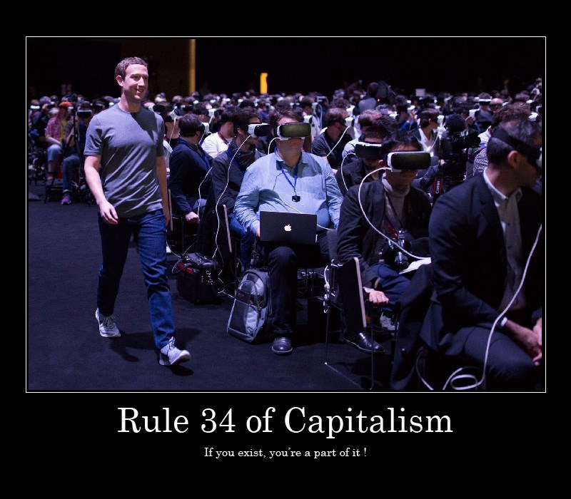 capitalism Mark Zuckerberg VR - 8753224192