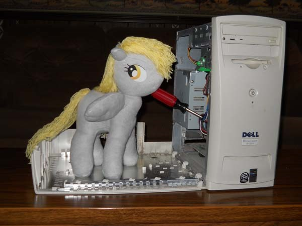 derpy hooves i-just-dont-know-what-went-wrong Plush toys - 8753244160