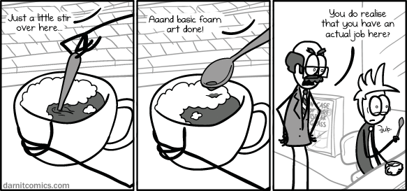 web comics work coffee Right...