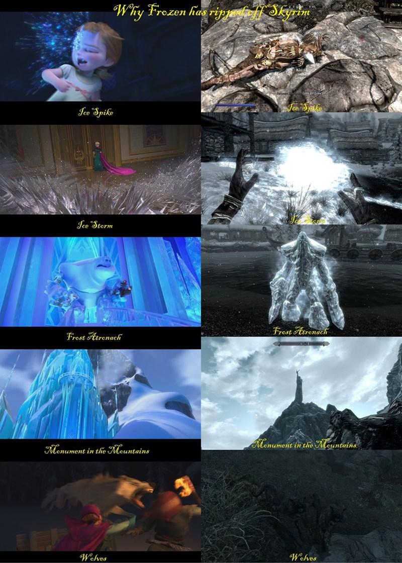 frozen,Skyrim