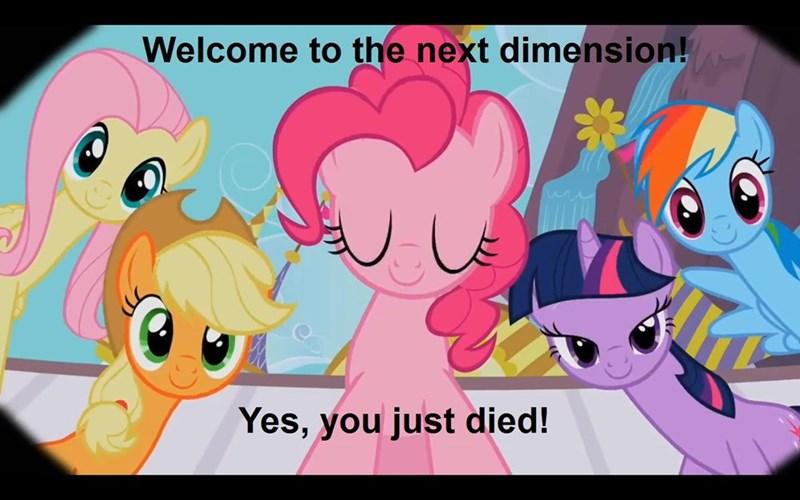 applejack twilight sparkle pinkie pie afterlife fluttershy rainbow dash - 8753529600
