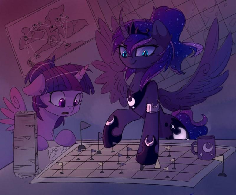 twilight sparkle princess luna - 8753584128