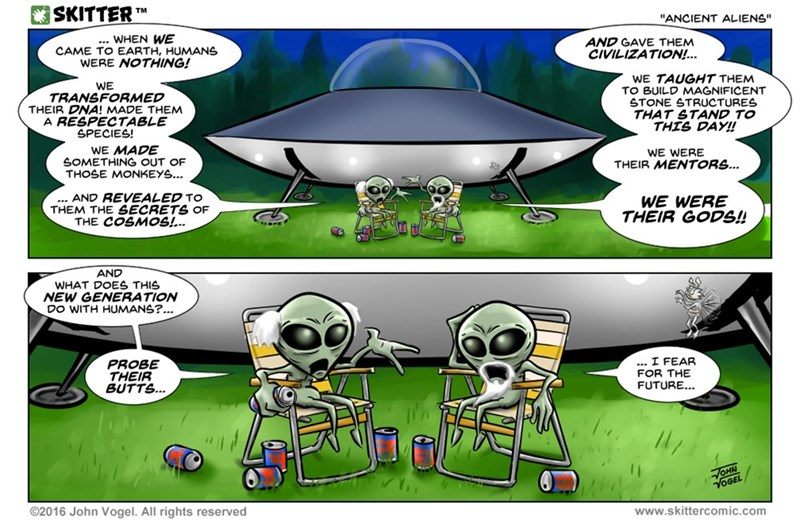 web comics science aliens The Older Generation Never Understands New Trends