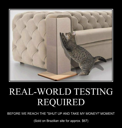 REAL-WORLD TESTING REQUIRED