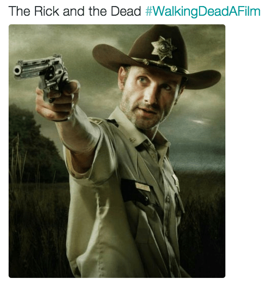 Movie - The Rick and the Dead #WalkingDeadAFilm