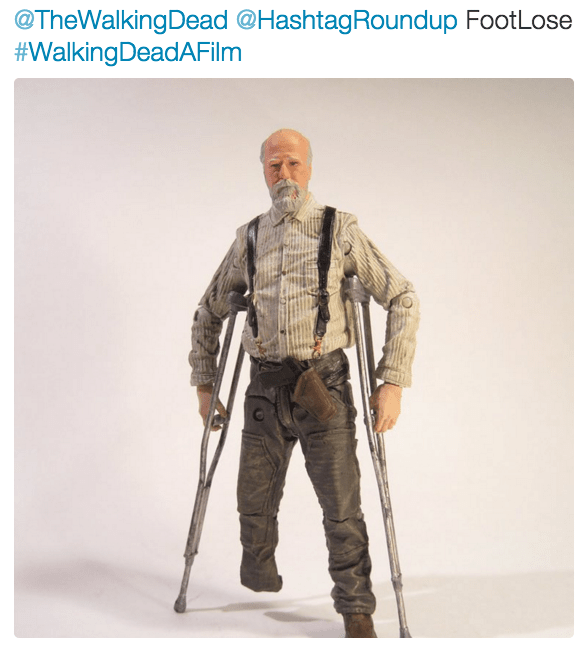 Product - @TheWalkingDead @HashtagRoundup FootLose #WalkingDeadAFilm