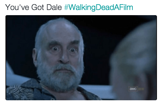 Face - You've Got Dale #WalkingDeadAFilm aMC