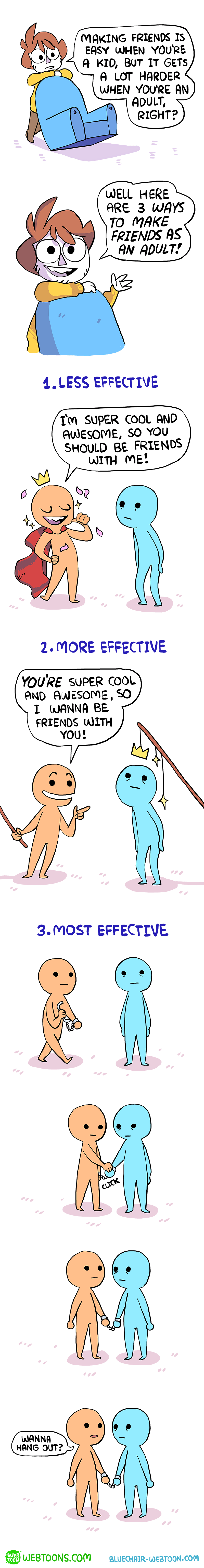 web comics friends adult Friendship