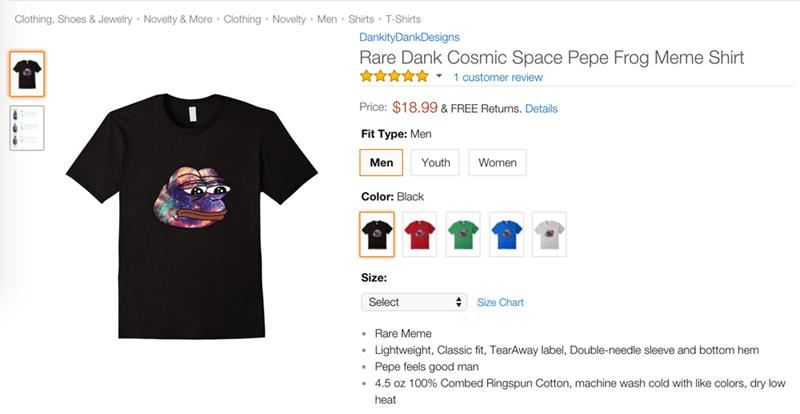funny memes rare pepe t shirt