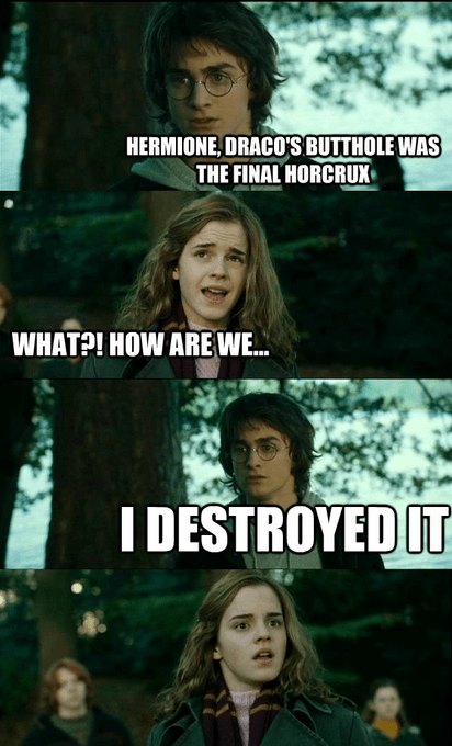 dracos butthole final horcrux