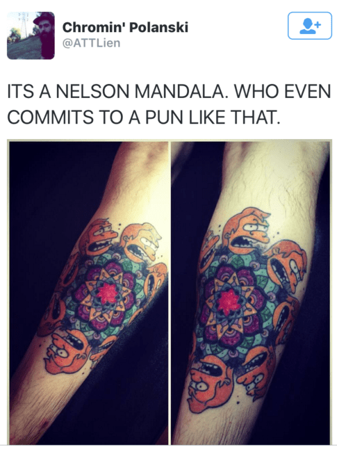 puns nelson the simpsons - 8754056192