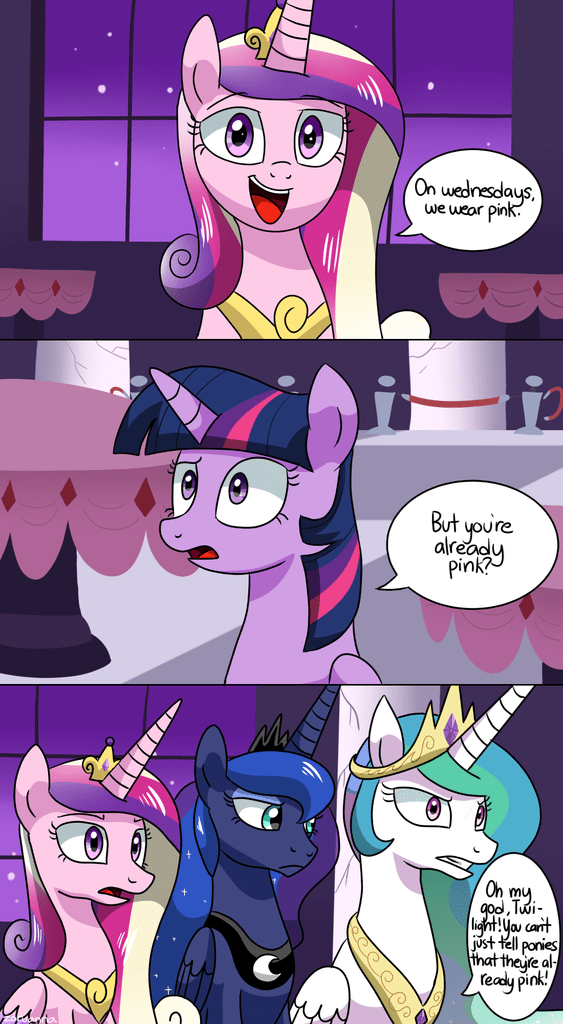 princess cadence twilight sparkle mean girls princess luna princess celestia - 8754135552