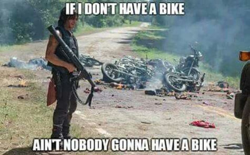 daryl no bike